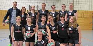 Die zweite Damenmannschaft des PSV