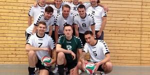 Die Volleyball-Herrenmannschaft des PSV Leipzig